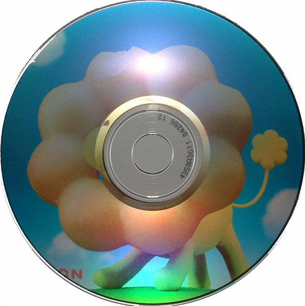 photograph relating to Printable Cd R identify 100 Pack 48X Spin X Diamond Silver Inkjet Printable CD-R (very clear hub)