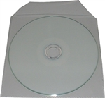 100 Pack Vinyl Sleeves for full size CD/DVD