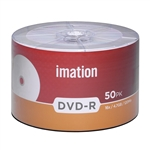 600 Pack Imation White Inkjet DVD-R (printable hub)