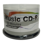 100 Pack PiData Digital Audio Music CD-R (Memorex Spec)