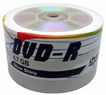 600 Pack PiData Shiny DVD-R 16X