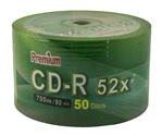 600 Pack Premium Silver Shiny CD-R